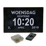 Digitale kalenderklok (10 Inch)_