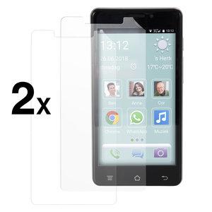 Senioren smartphone screenprotector (2 stuks)